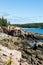Stock Image : Rocky Coast Near Bar Harbor