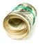 Stock Image : Rollo del efectivo del dinero