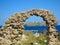 Stock Image : Roman arch in Ventotene island