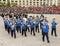 Stock Image : Romanian Gendarmerie Military Music Band