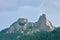 Stock Image : Mountain peak landmark