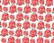 Stock Image : Roses pattern