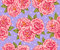 Stock Image : Roses seamless