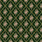 Stock Image : Roses seamless pattern