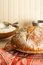 Stock Image : Round Rustic Artisan Bread