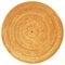 Stock Image : Round Woven Rattan Pattern.