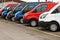 Stock Image : Used van sales