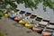 Stock Image : Rowboats