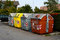 Stock Image : Rubbish containers in the street