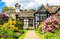 Stock Image : Rufford Old Hall and garden