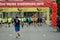 Stock Image : Runners on start of Vilnius Marathon