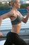Stock Image : Running woman