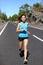 Stock Image : Running woman - female runner jogging