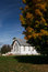 Stock Image : Rural church and fall color
