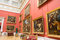 Russia. The Hermitage. Hall of  Italian art of 17-18 centuries.