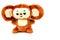 Stock Image : Russian cartoon character Cheburashka