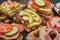 Stock Image : Rustic appetizer