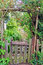 Stock Image : Rustic Garden Gate