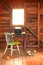 Stock Image : Rustic Writers station