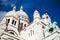 Stock Image : Sacre Coeur in Montmartre, Paris