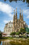 Stock Image : The Sagrada Familia cathedral in Barcelona, Spain
