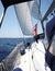 Stock Image : Sailling Yacht