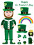 Stock Image : Saint Patrick Items Set_eps
