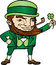 Stock Image : Saint Patrick's Day Leprechaun