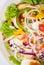 Stock Image : Salad vegetables