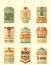 Stock Image : Sale Retro Tags