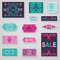 Stock Image : SALE Tags and Labels