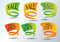 Stock Image : Sales Promotion stickers and web icons