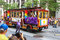 Stock Image : San Francisco Pride Parade PFLAG Trolley Float