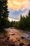 Stock Image : San Juan Mountain Sunset