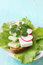 Stock Image : Sandwich with cilantro