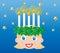 Stock Image : Sankta lucia a swedish christmas tradition