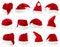 Stock Image : Santa claus hat