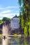 Stock Image : Saxon garden in Warsaw, Poland