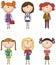 Stock Image : School Girls