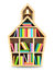 Stock Image : School house with colorful books.