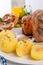 Stock Image : Schweinshaxe - pork knuckle on Bavarian