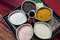 Stock Image : Scrubb powder for spa massage