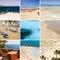 Stock Image : Sea & beach collage