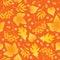 Stock Image : Seamless autumn background