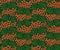 Stock Image : Seamless background with rowan