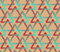 Stock Image : Seamless background with triangles in hipster palette