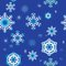 Stock Image : Seamless backgrounds with snowflakes