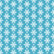 Stock Image : Seamless blue pattern with snowflakes.