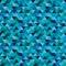 Stock Image : Seamless blue zig zag triangle pattern