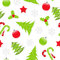 Stock Image : Seamless Christmas pattern